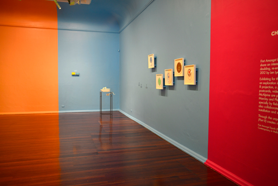 First Amongst Equals II, 2012. Perth Institute of Contemporary Arts, exhibition view. Photo by Tony Nathan