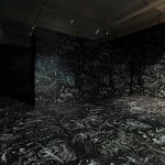 Laurie Anderson & Hsin-Chien Huang, Chalkroom, 2020. Installation view at Perth Institute of Contemporary Arts (PICA). Photo by Bo Wong.